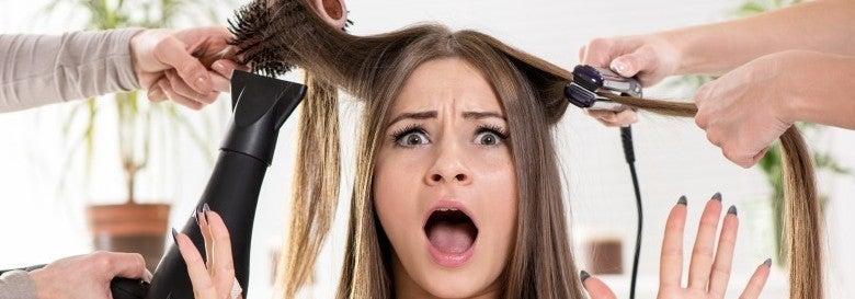 hair options banner