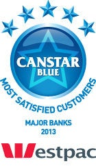 Most Satisfied Customers - Major Banks, 2013