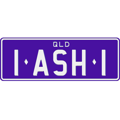 Personalised plates qld