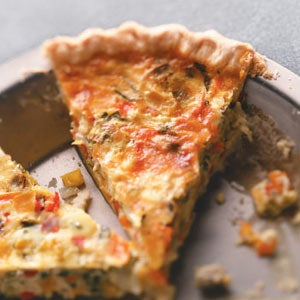 rainbow quiche (credit taste of home)