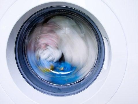 washing machine static